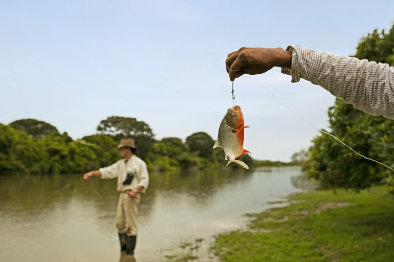 Artisanal Fishing - Corocora Wildlife Camp in Colombia