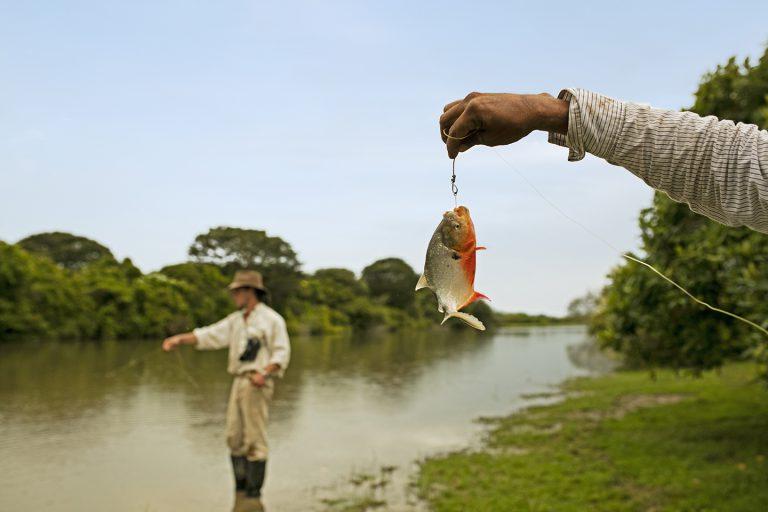 Artisanal Fishing - Corocora Wildlife Camp in Colombia