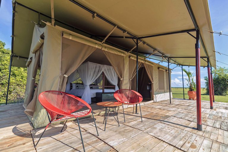 Private Terrace - Corocora Wildlife Camp