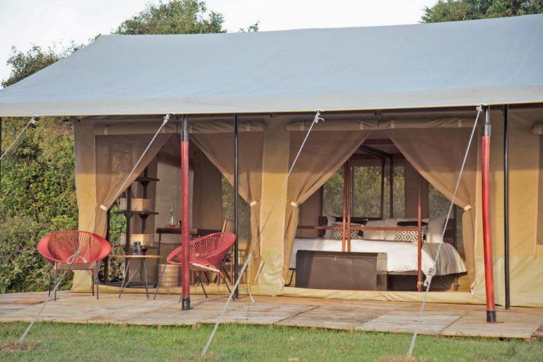 Double Accommodation in Sleeping tent - Corocora Wildlife Camp