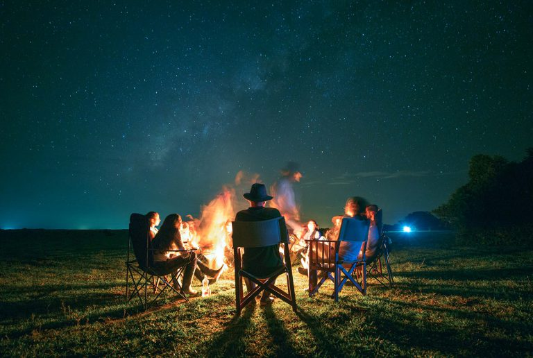 Bonfire Dinner - Corocora Wildlife Camp in Colombia